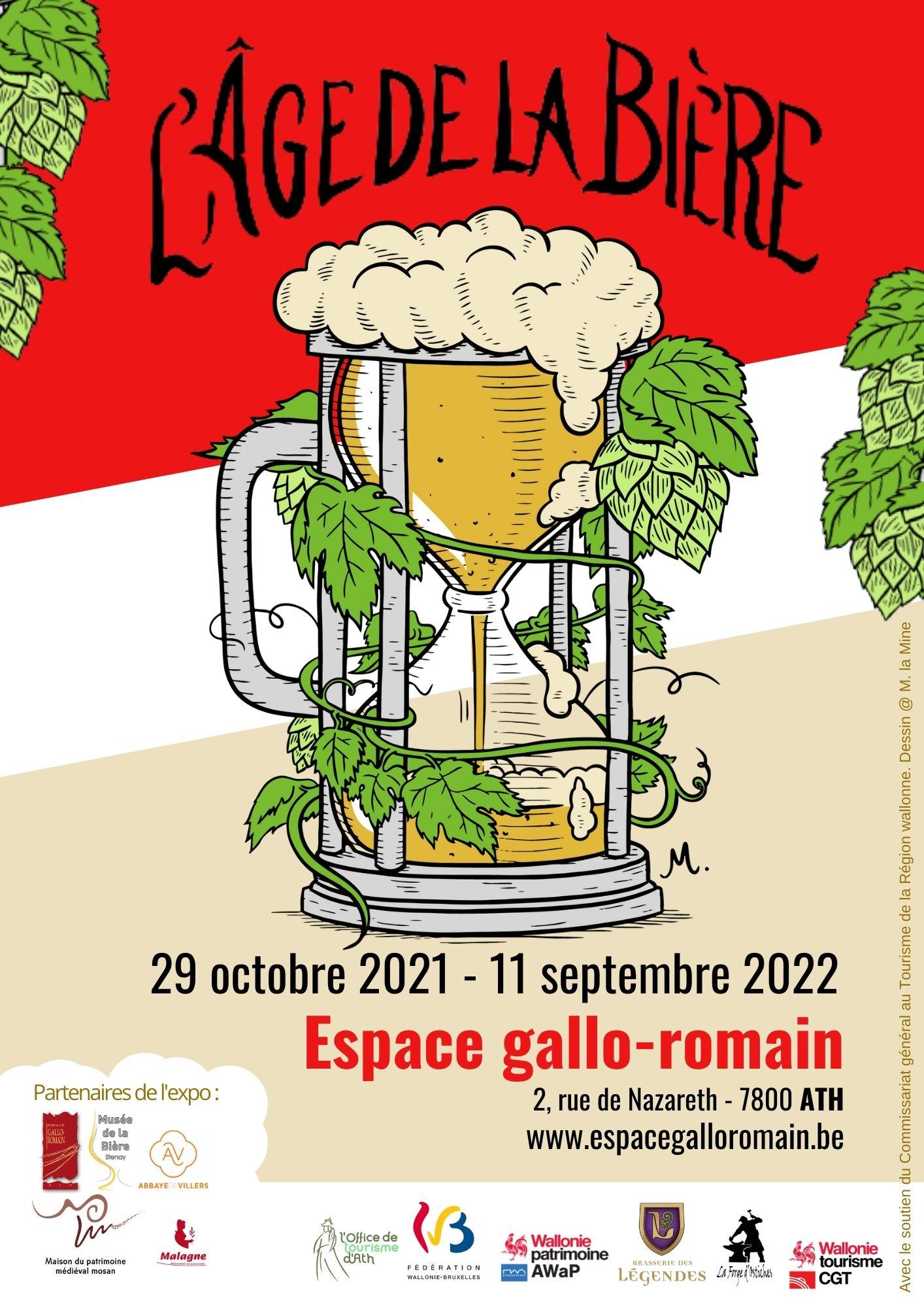 Exposition Age de la Bière, affiche